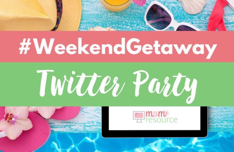 #WeekendGetaway Twitter Party