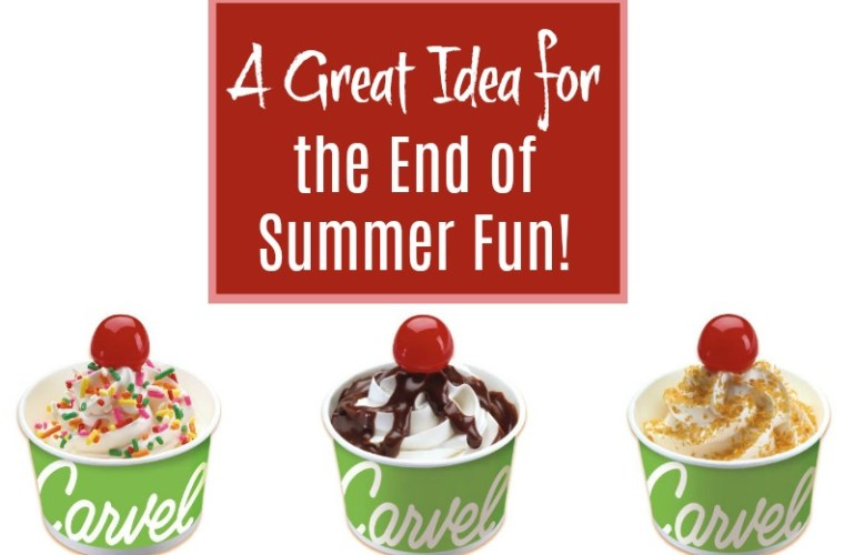 A Great Idea for the End of Summer Fun!