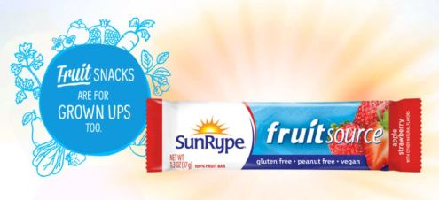 Need a healthy snack or lunch box treats - SunRype products are great!