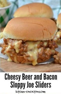 A foodie friday roundup about sloppy joes.
