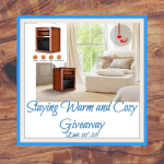 Staying Warm and Cozy Giveaway Ends 11/28