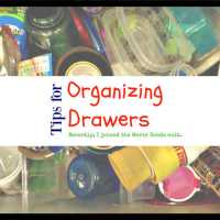 Tips for Organizing Drawers