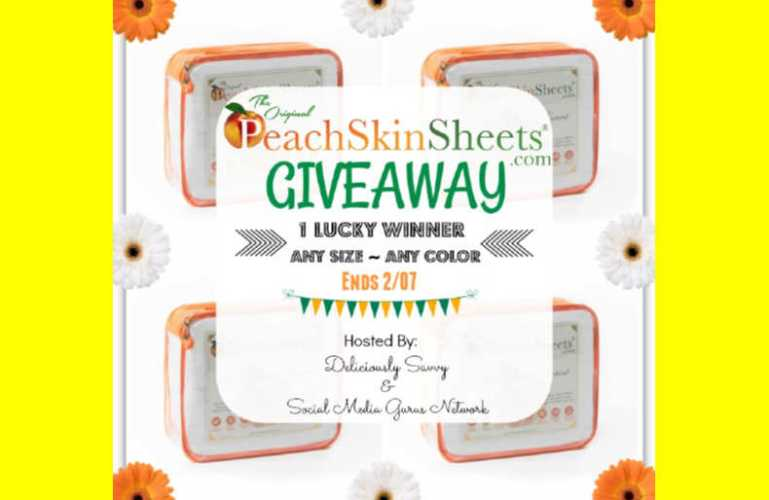 The Original PeachSkinSheets.com Giveaway!