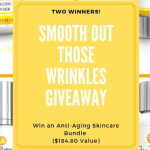 Smooth Out Those Wrinkles Giveaway ends 8/1/19 US only