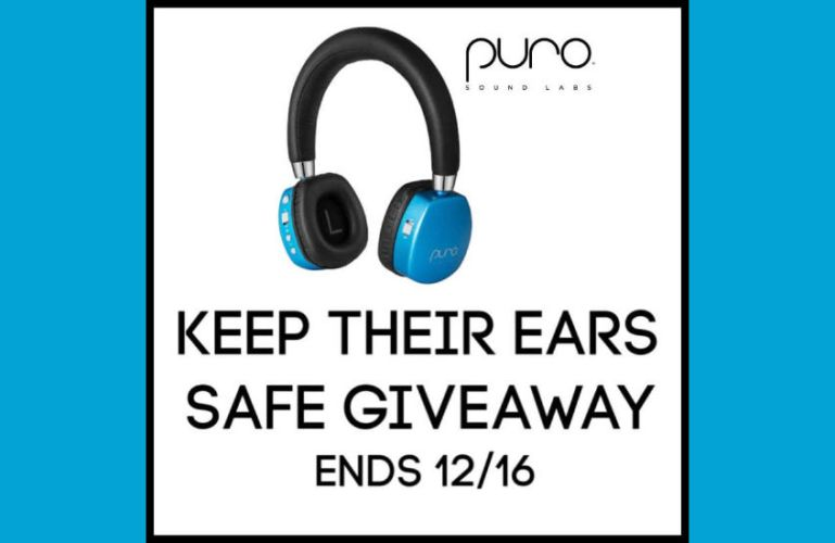 Keep Their Ears Safe Giveaway ends 12/16/2019