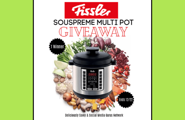 Fissler Souspreme Multi Pot Giveaway (1 Winners ~ $270 RV) Ends 12/22