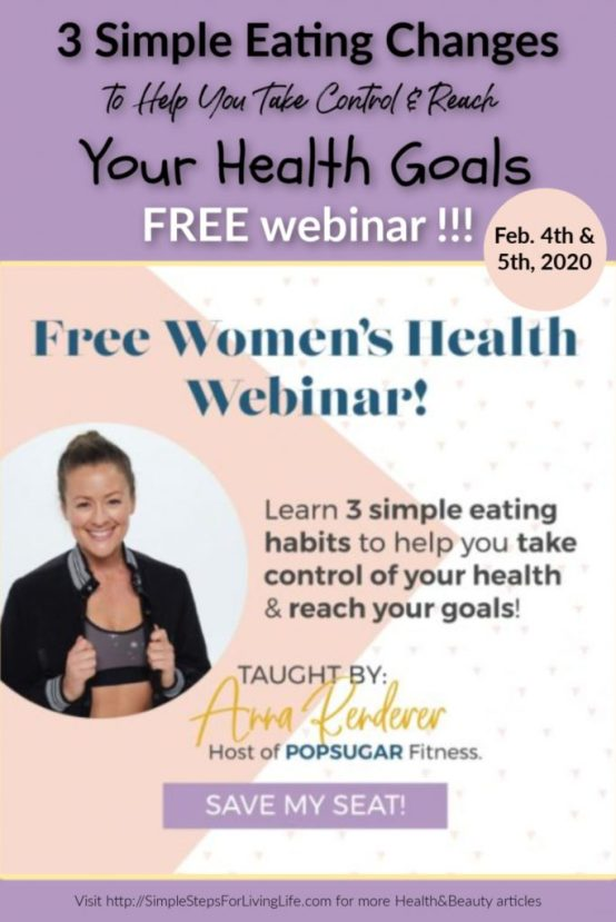eating healthy webinar webinar for women's health