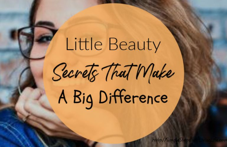 Little Beauty Secrets That Make A Big Difference