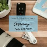 More Function Less Space Giveaway – Ends 2/18/2020