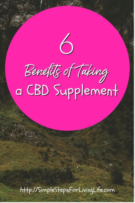 Benefits of Taking a CBD Supplement