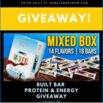 Built Bar Protein and Energy Giveaway Ends 4/3/2020