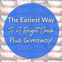 The Easiest Way To A Bright Smile - Plus a Smile Brilliant Giveaway!