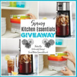 Spring Kitchen Essentials Giveaway Ends 4/5/20