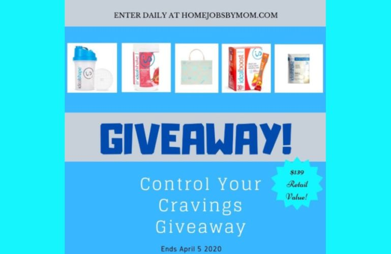 Control Your Cravings Giveaway ($139 RV ~ Ends 4/5) @IdealShape