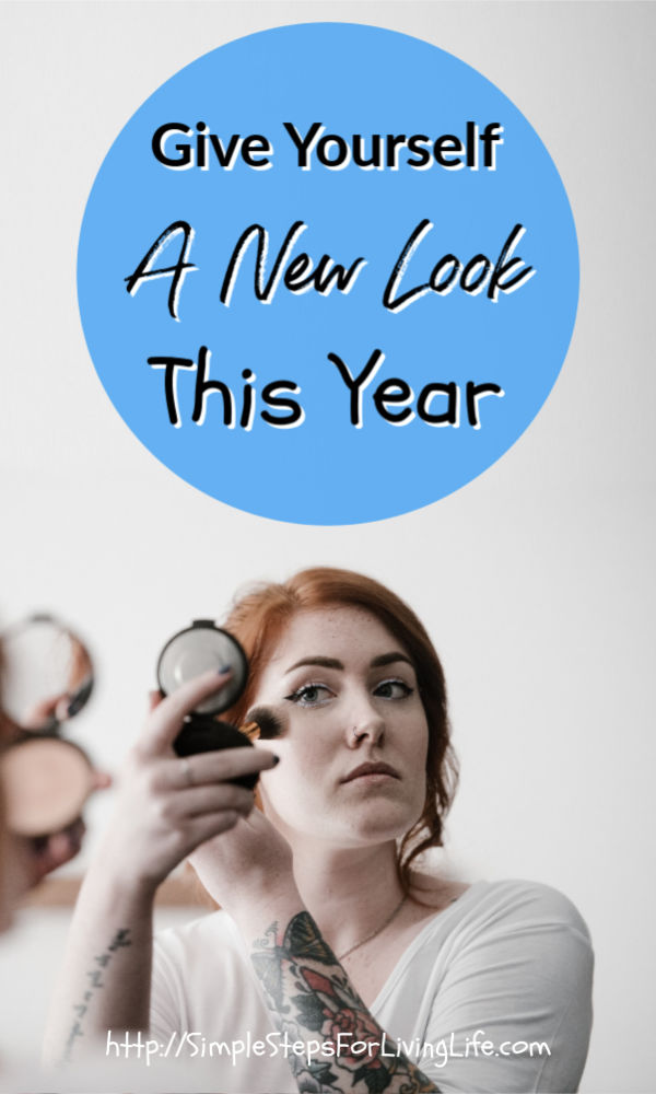 give yourself a new look this year pinterest