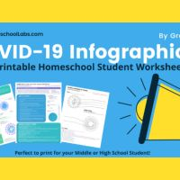 FREE HOMESCHOOL STUDENT COVID-19 PRINTABLE LESSON & WORKSHEET