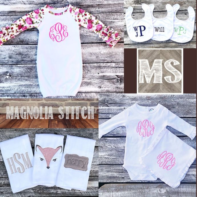 Magnolia Stitch baby gifts
