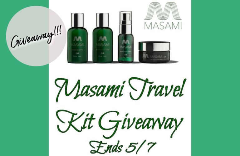 Welcome to Masami Travel Kit Giveaway Ends 5/7