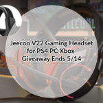 Jeecoo V22 Gaming Headset for PS4 PC Xbox Giveaway Ends 5/14