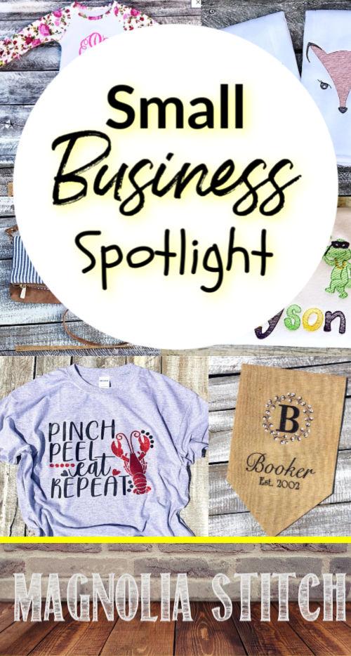 Small business spotlight Magnolia Stitch