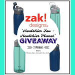 Zak Designs Healthier You & Healthier Planet Giveaway! ends 5/13