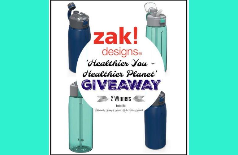 Zak Designs Healthier You & Healthier Planet Giveaway! ends 5/13
