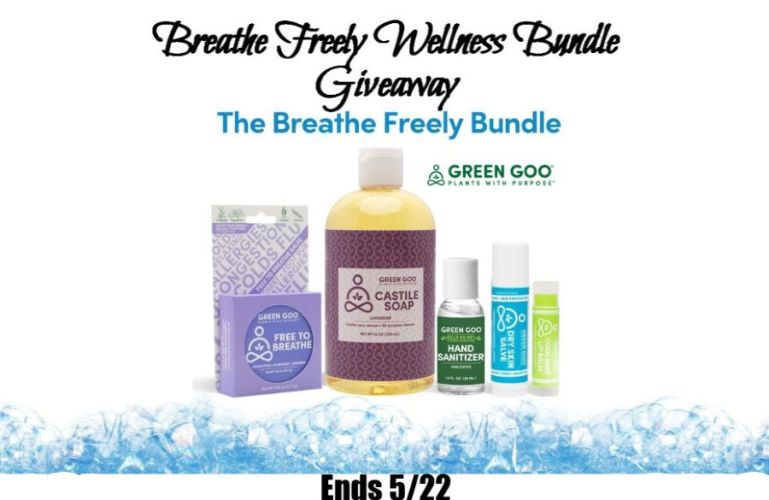 Breathe Freely Wellness Bundle Giveaway Ends 5/22