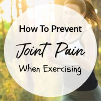 How To Prevent Joint Pain When Exercising