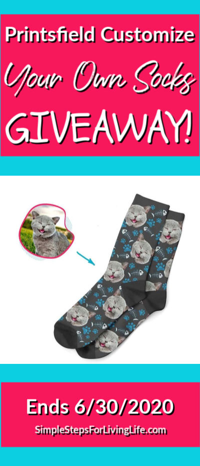 printsfield customized your own socks