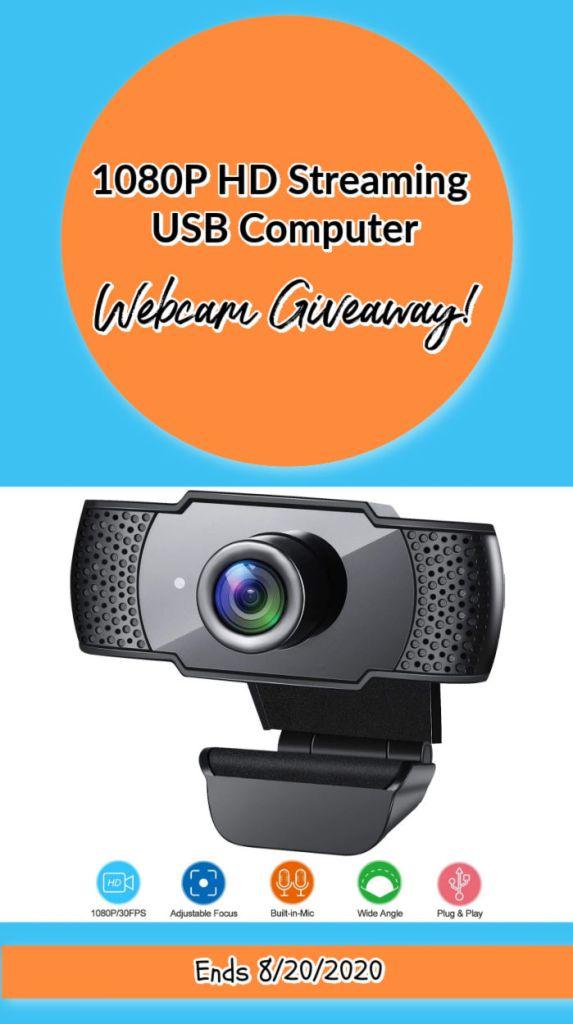 streaming usb camera giveaway pin