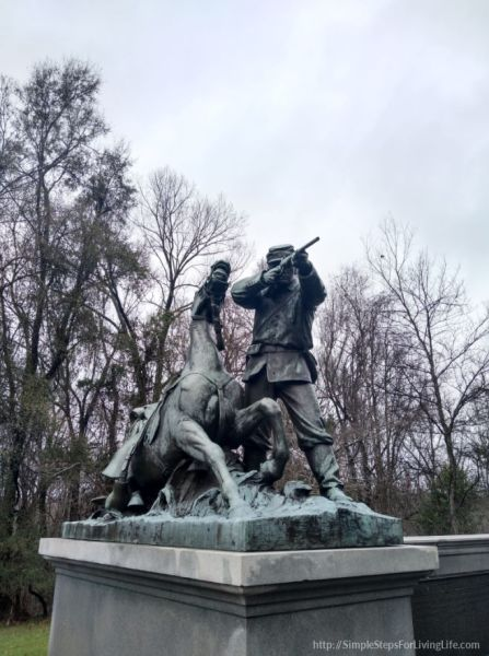 Our pit stop at vicksburg national military park