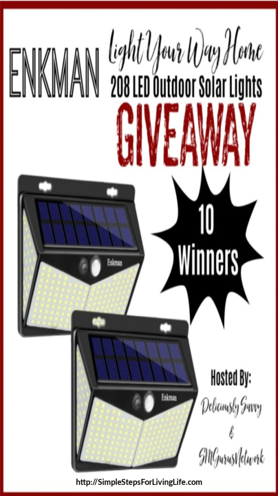 Solar lights giveaway