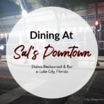 Dining At Sal's Downtown (Restaurant & Bar)
