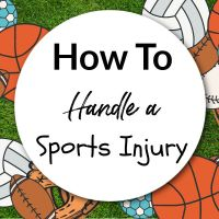 How To Handle A Sports Injury