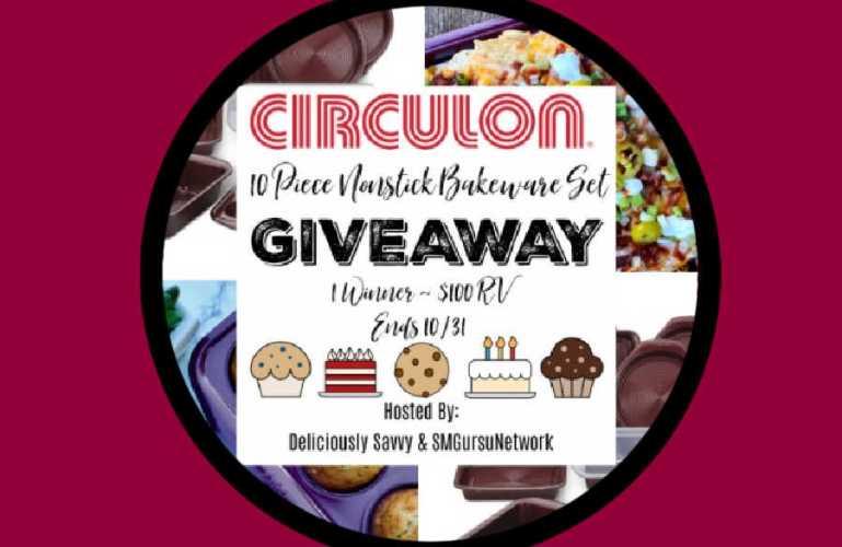 Circulon 10 Piece Nonstick Bakeware Set Giveaway (ends 10/31)