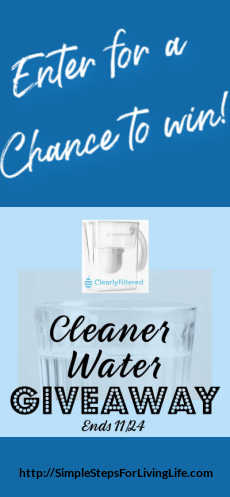 Cleaner water giveaway ends 11 24
