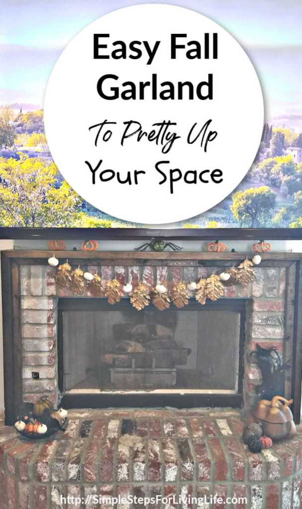 Easy Fall Garland to pretty up your space