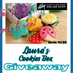 Laura's Cookies Box Giveaway ends 11/25/2020