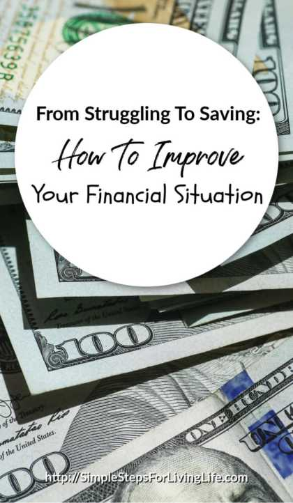 from struggling to saving