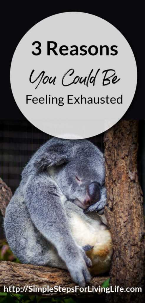 3 reasons you could be feeling exhausted