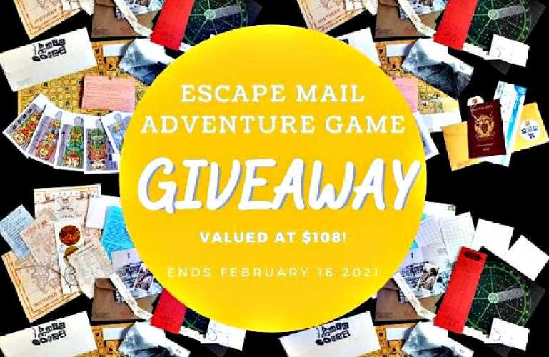 Escape Mail Adventure Game Giveaway (Ends 2/16) @Mobileescaperm