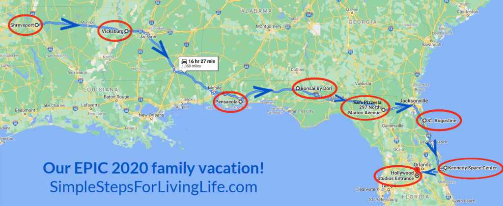 our epic family roadtrip to florida