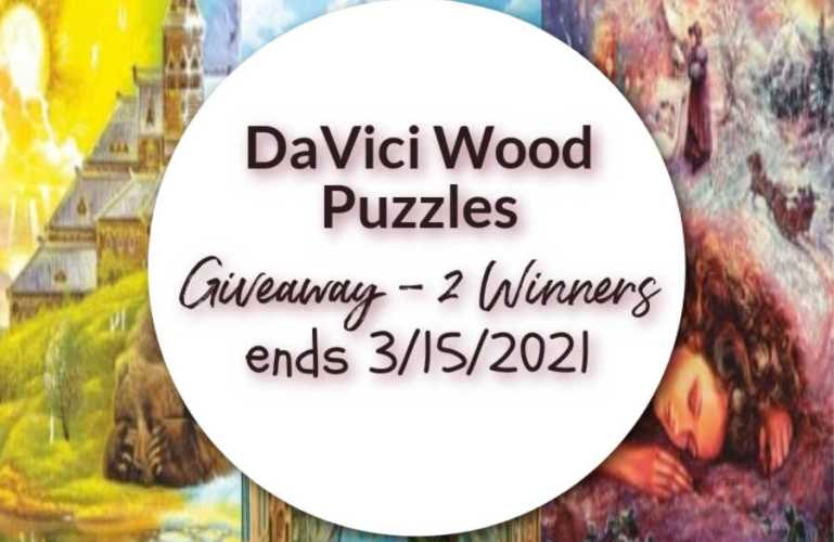 DaVici Wood Puzzles Giveaway 2 Winners ends 3/15/2021