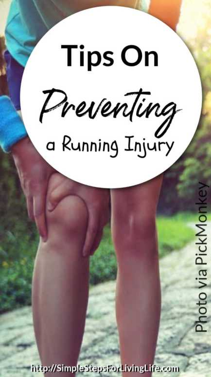 tips on preventing a running injury