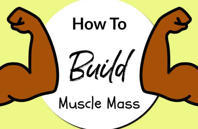 How To Build Muscle Mass