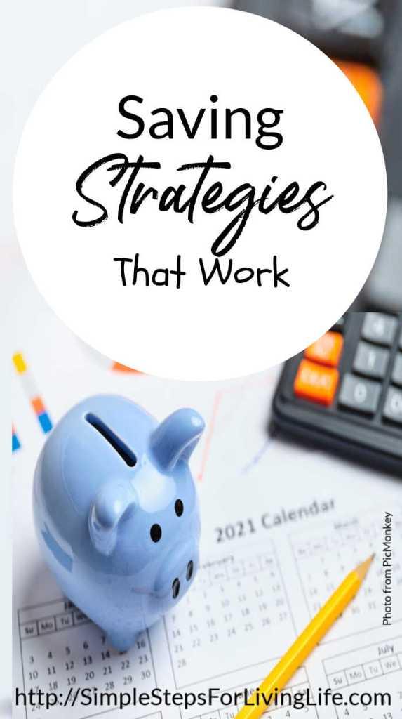 saving strategies that really work