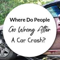Where Do People Go Wrong After A Car Crash?