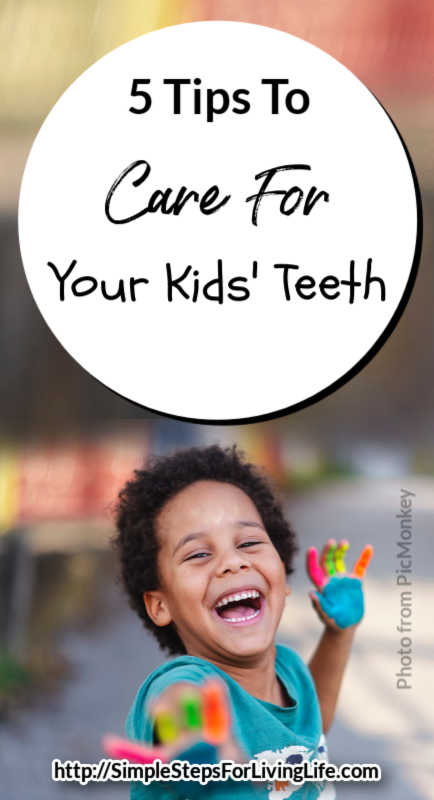 Are you struggling to get your kids to brush their teeth? Here are 5 tips to care for your kids' teeth...