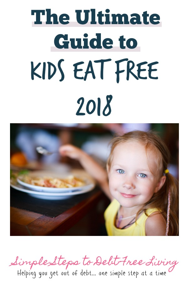 Find all the great kids eat free promotions here!