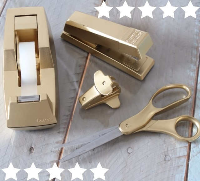Have You Guys Seen The New Gold Desk Accessories At Target? My Chin Dropped  When I Was Walking Down The Aisle And I Think I Stood There And Drooled For  ...